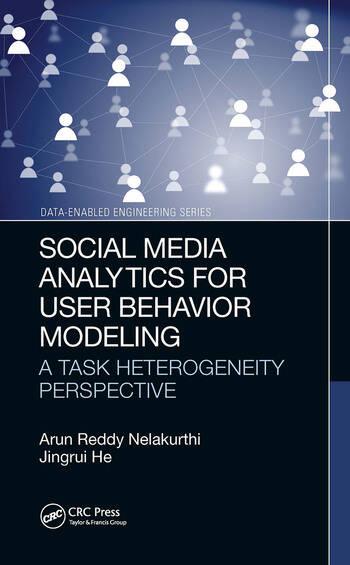 Social Media Analytics for User Behavior Modeling A Task Heterogeneity Perspective book cover