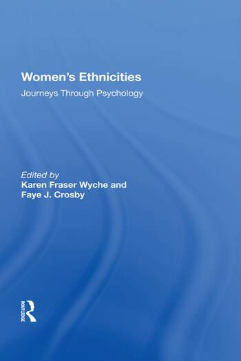 Women's Ethnicities Journeys Through Psychology book cover