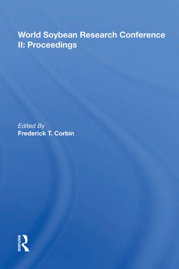 World Soybean Research Conference Ii, Proceedings book cover