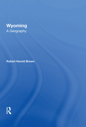 Wyoming A Geography book cover
