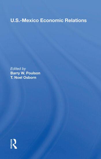 U.S.-Mexico Economic Relations book cover