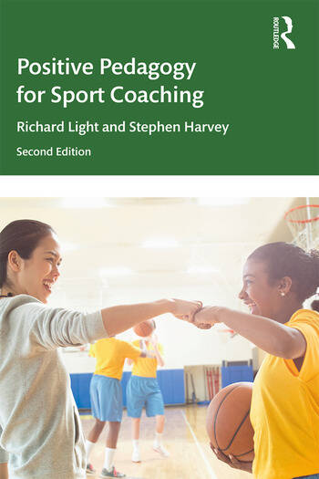 Positive Pedagogy for Sport Coaching book cover