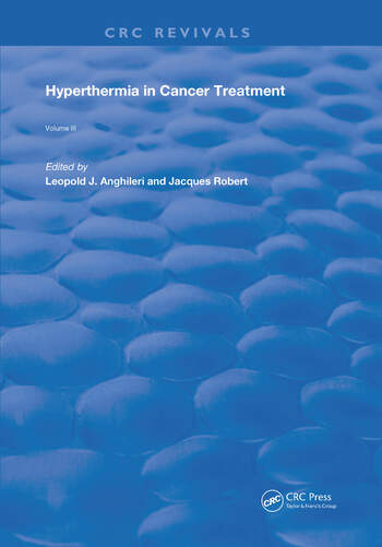 Hyperthermia In Cancer Treatment Volume 3 book cover