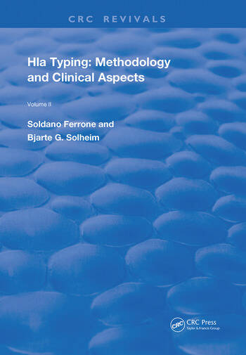 HLA Typing Methodology and Clinical Aspects book cover