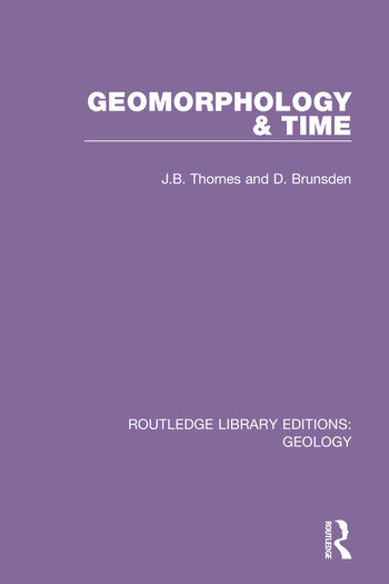 Geomorphology & Time book cover