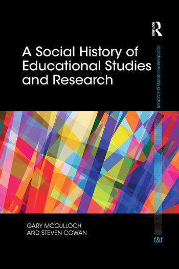 A Social History of Educational Studies and Research book cover