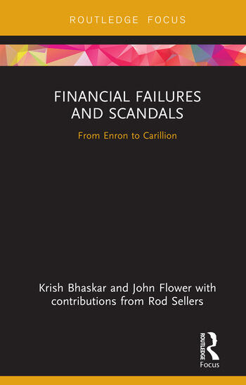 Financial Failures and Scandals From Enron to Carillion book cover