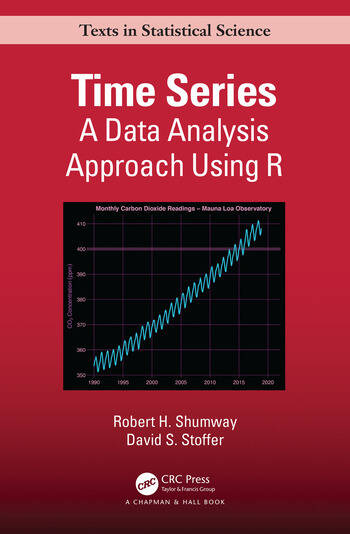 Time Series A Data Analysis Approach Using R book cover