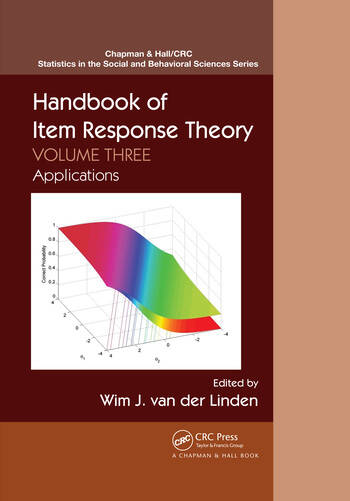 Handbook of Item Response Theory, Volume Three_PBD Applications book cover