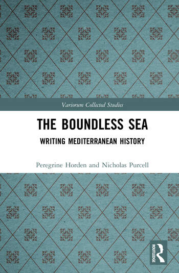 The Boundless Sea Writing Mediterranean History book cover
