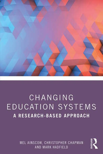 Changing Education Systems A Research-based Approach book cover