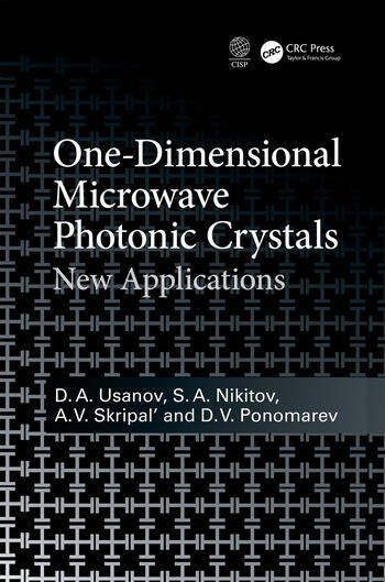 One-Dimensional Microwave Photonic Crystals New Applications book cover