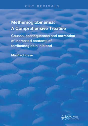 Methemoglobinemia A Comprehensive Treatise book cover