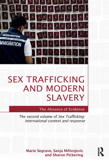 Sex Trafficking and Modern Slavery The Absence of Evidence book cover