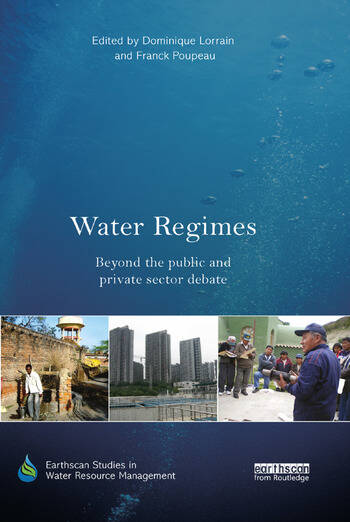 Water Regimes Beyond the public and private sector debate book cover
