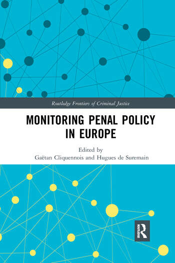 Monitoring Penal Policy in Europe book cover