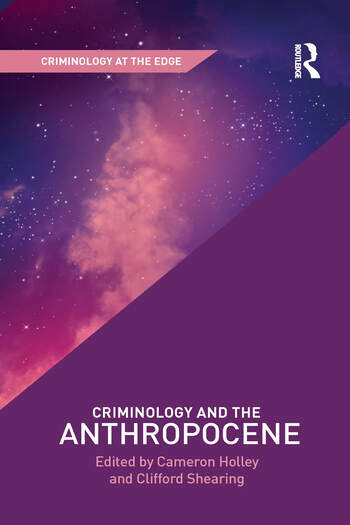 Criminology and the Anthropocene book cover