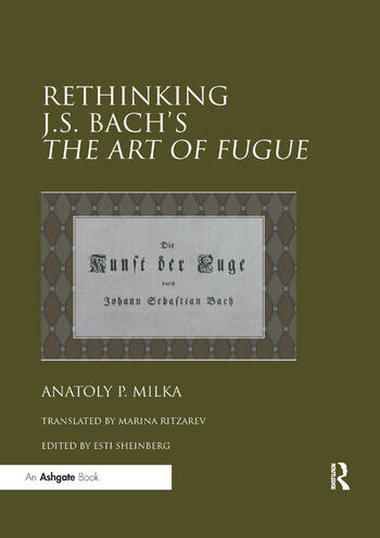 Rethinking J.S. Bach's The Art of Fugue book cover