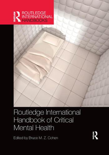 Routledge International Handbook of Critical Mental Health book cover