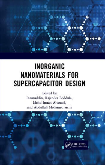 Inorganic Nanomaterials for Supercapacitor Design book cover