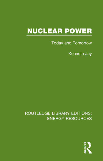 Nuclear Power Today and Tomorrow book cover