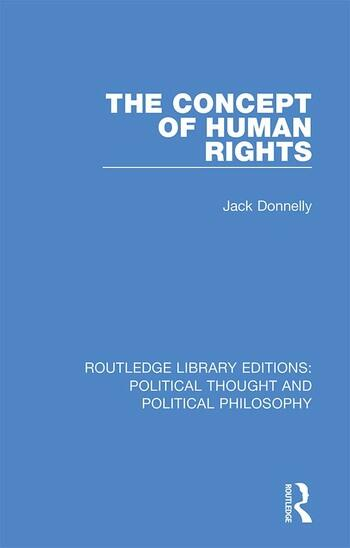 The Concept of Human Rights book cover