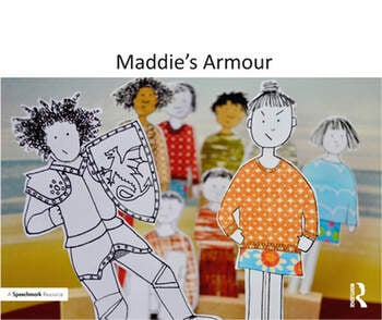 Maddie's Armour A Therapeutic Story About Bullying book cover