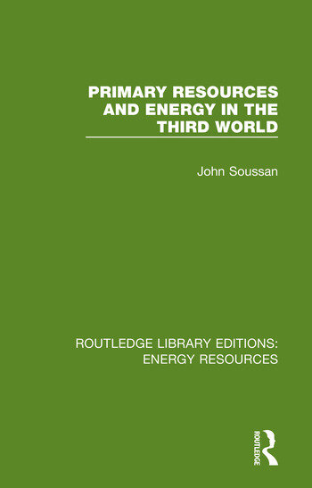 Primary Resources and Energy in the Third World book cover
