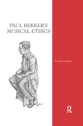 Paul Bekker's Musical Ethics book cover