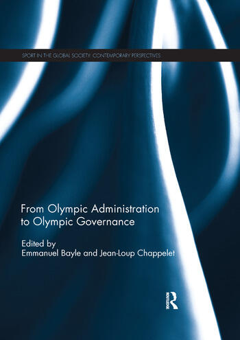 From Olympic Administration to Olympic Governance book cover
