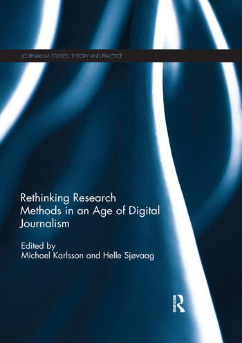 Rethinking Research Methods in an Age of Digital Journalism book cover