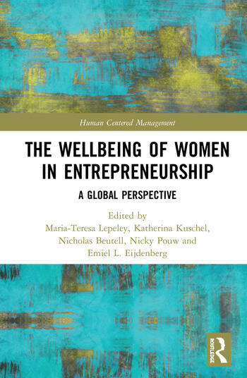 The Wellbeing of Women in Entrepreneurship A Global Perspective book cover