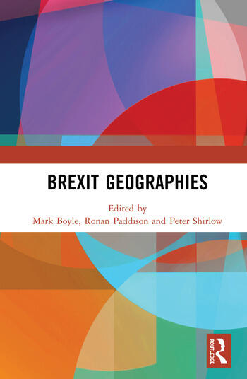 Brexit Geographies book cover
