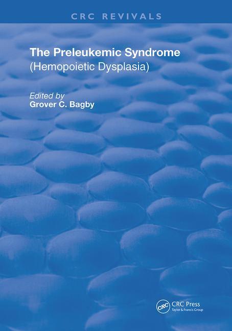Preleukemic Syndrome Hemopoietic Dysplasia book cover