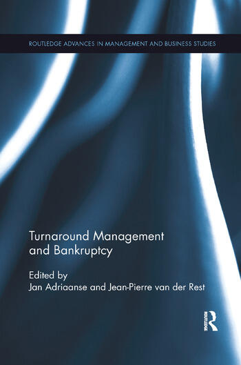 Turnaround Management and Bankruptcy book cover