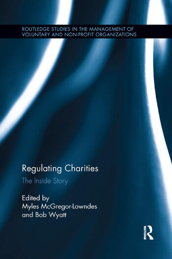 Regulating Charities The Inside Story book cover