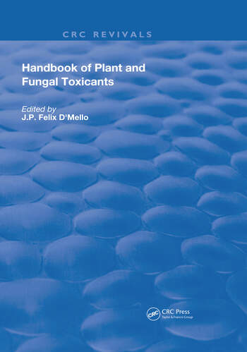 Handbook of Plant and Fungal Toxicants book cover