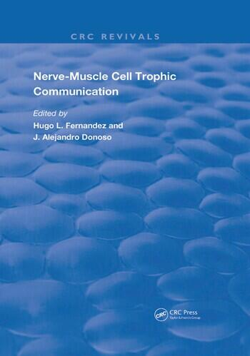 Nerve-Muscle Cell Trophic Communication book cover