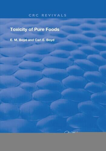 Toxicity Of Pure Foods book cover