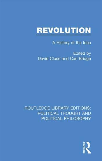 Revolution A History of the Idea book cover