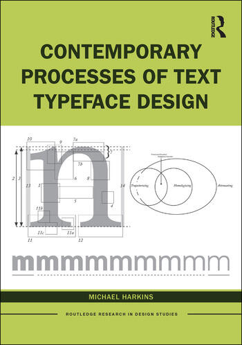 Contemporary Processes of Text Typeface Design book cover