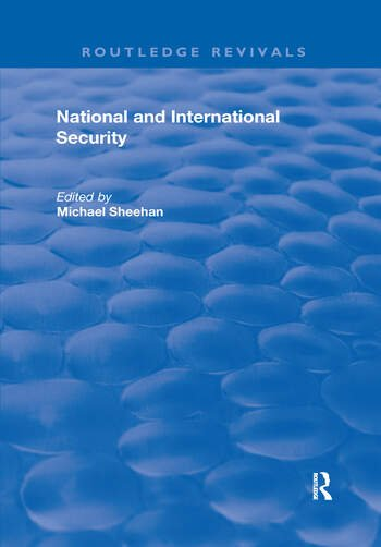 National and International Security book cover