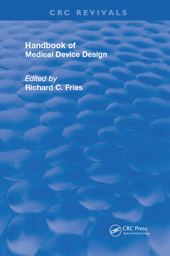 Handbook of Medical Device Design book cover