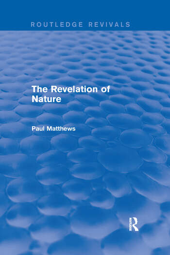 The Revelation of Nature book cover