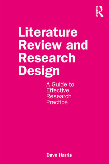 Literature Review and Research Design A Guide to Effective Research Practice book cover
