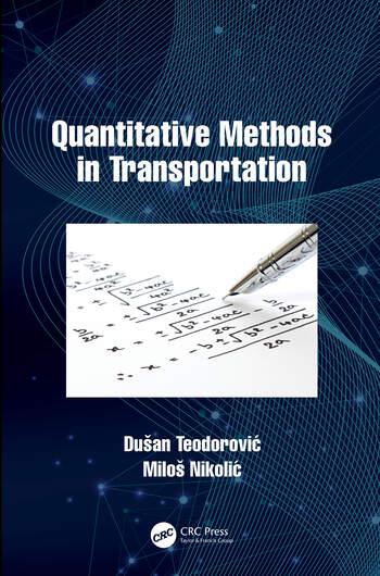 Quantitative Methods in Transportation book cover