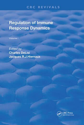 Regulation of Immune Response Dynamics Volume 1 book cover