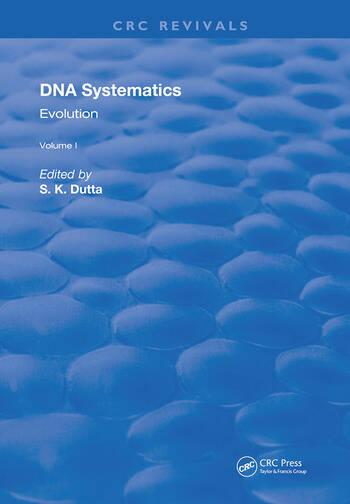 DNA Systematics Evolution book cover