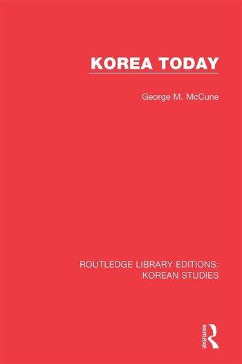 Korea Today book cover