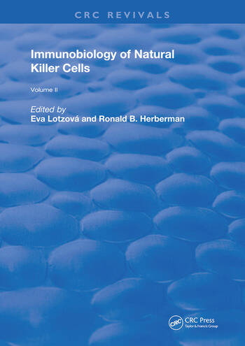 Immunobiology Of Natural Killer Cells Volume 2 book cover